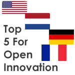 Top 5 Countries for Open Innovation